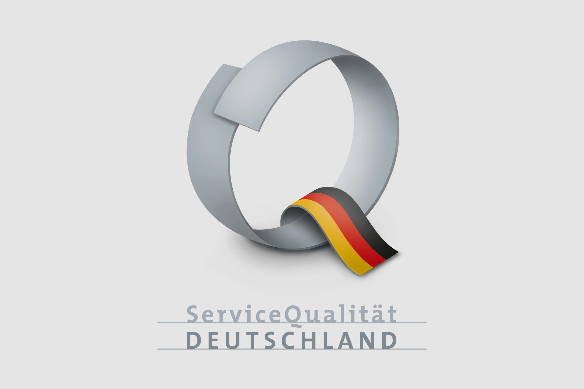 Q-Siegel der ServiceQualität Deutschland