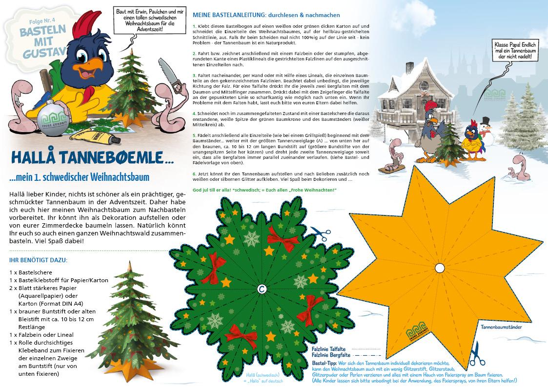 FROHE ZUKUNFT - Gustav Sparfrohs erster eigener Weihnachtsbaum!