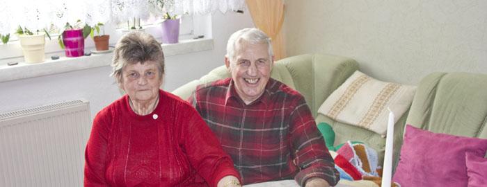 Ehepaar Weißpfennig berichten über ihre Erfahrungen